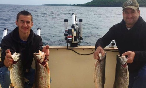Lake Michigan Fishing Charters Fish-X-TC